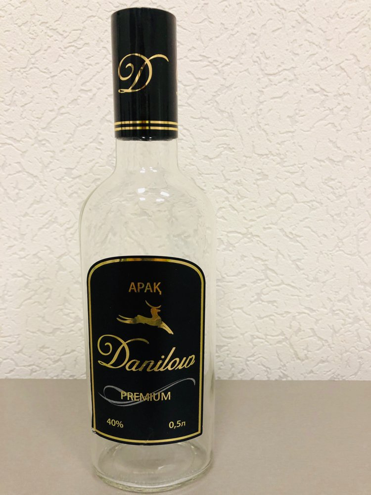 """Водочный комплект """"Danilow"""" (сувенирная, выставочная продукция)"""