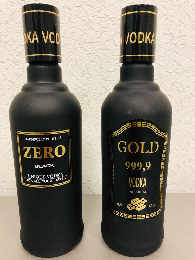 """Водочные комплекты """"Zero"""", """"Gold"""" (сувенирная, выставочная продукция)"""